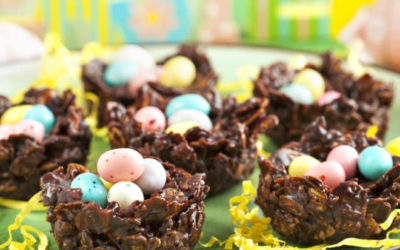 Bricolage en chocolat de Pâques 8-11 ans du 7 avril 2021