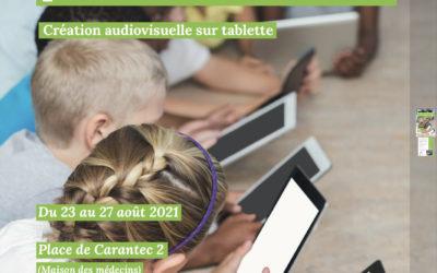 Atelier numériques Août 2021